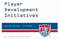 USSF Approves Youth Player Development Initiatives