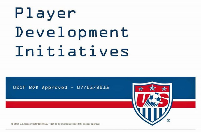 USSF Approves Youth Development Initiatives